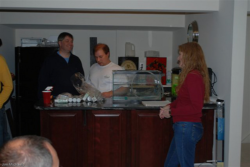 March 2009: Socializing