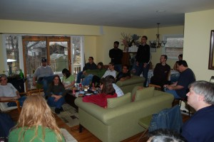 February 2009: Room full of people!