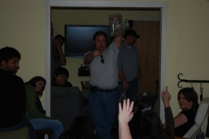 February 2009: Dave Auctioning