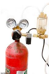 CO2 Tank and Regulator